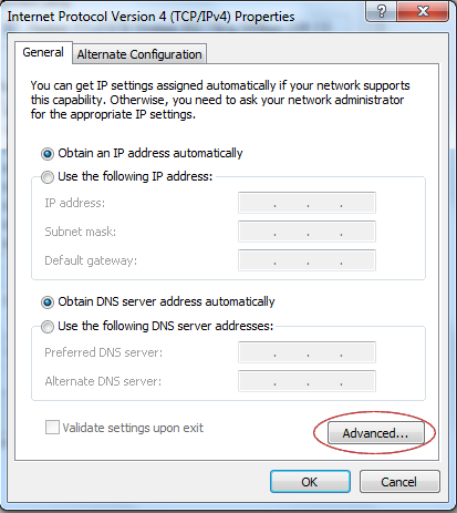 Local DNS setup Option 2 step 6